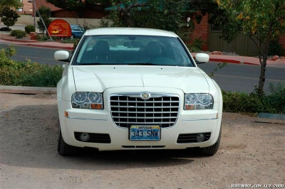 Chrysler 300. Our rental on Phoenix, Grand Canyon, Las Vegas trip.