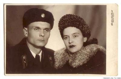 Мои дедушка и бабушка Николай и Лия Волконовские.