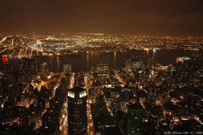 Brooklyn From The Top Of Empire State Building