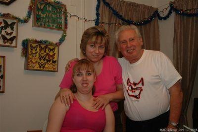 Мама, папа и Лина