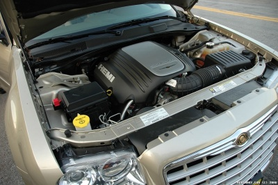 V8 HEMI engine.