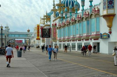 Atlantic City Boardwalk near Taj Mahal