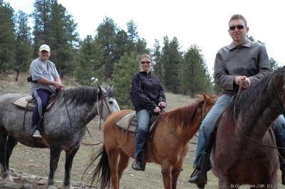 Horseback Riding at Estest Park