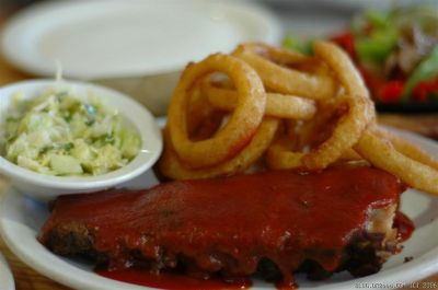 Ribs at Ed's Cantina in Estes Park