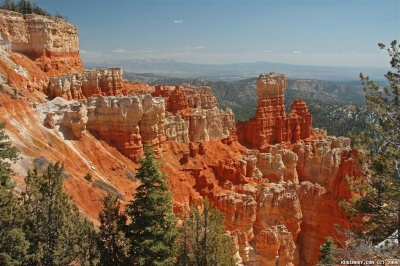 Bryce Canyon National Park. Agua Canyon Point.