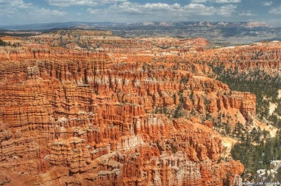 Bryce Canyon National Park. Inspiration Point.