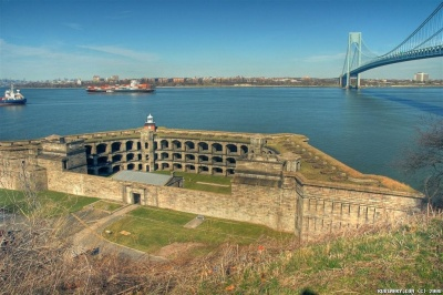Fort Wadsworth on Staten Island