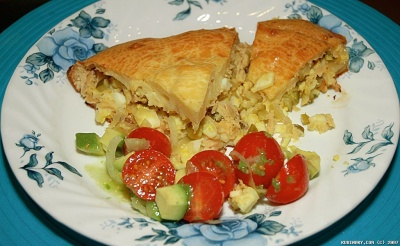 Lazy Tuna Pie