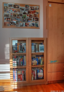 IKEA Billy bookcase for our office.
