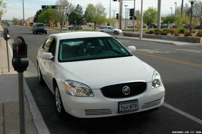 Buick Lucerne. Our rental car on our Utah road-trip.