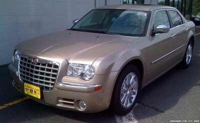 Our brand new Chrysler 300C.