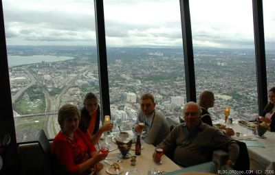 360 Restaurant in CN Tower