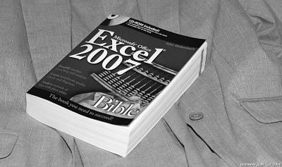 Excel book.