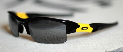 Oakley LIVESTRONG Flak Jacket XLJ glasses.