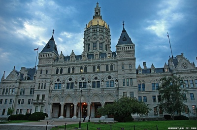 State Capitol Building in Hartford, CT.