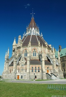 Library of Parliament in Ottawa, Canada.