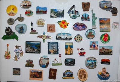 Story of our travels told by our magnets.