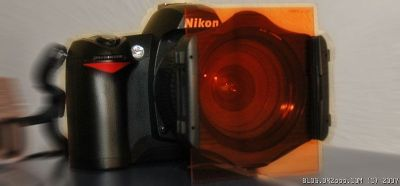 Nikon D70 and Rectangular Filter