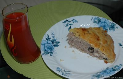 Meat Pie Slice