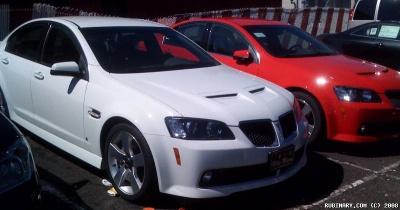 Pontiac G8 GT.