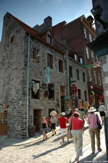 Streets of old Quebec.