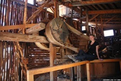 Sawmill in Hanksville.