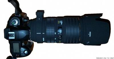 Sigma 70-200mm f/2.8 Lense