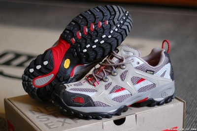 The North Face Men's Hedgehog GTX XCR hiking shoes.
