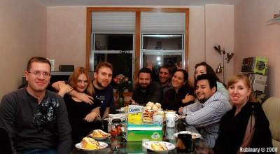 Ignat, Alena, Daniel, Alex, Eugene, Galya, Alina, Maruk, Lina