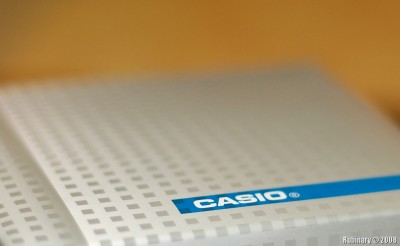Casio watch box.