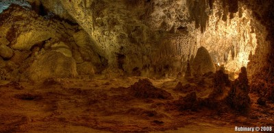 Carlsbad Caverns National Park.