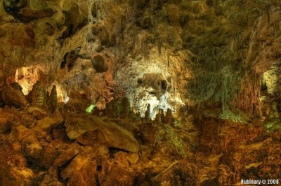 One of the caves in Carlsbad Caverns.