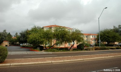 Homewood Suites. Our hotel in Scottsdale.