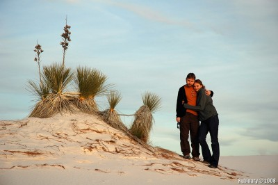 Us at White Sands.
