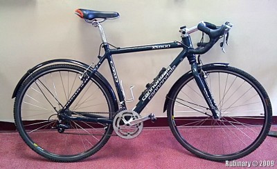 Cannondale XS800 — cyclocorss bicycle.