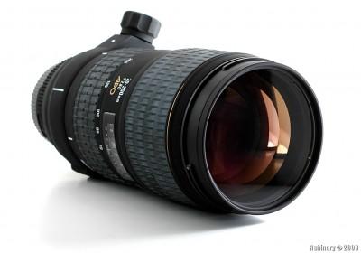 Sigma Zoom Telephoto 70-200mm f/2.8 EX DG APO HSM lens.