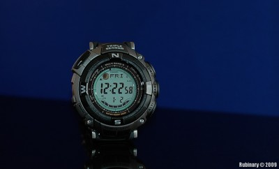 Casio Pathfinder PAW1500T-7V. Alena's gift to me on New Year.