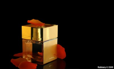 Shiseido Zen perfume. My gift to Alena for New Year.