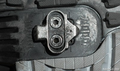 SPD cleat.