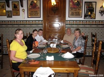 Tio Pepe Spanish restaurant.