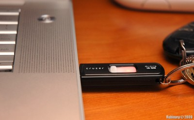Sandisk Cruzer 16GB flash drive.