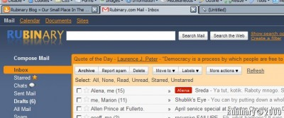 Gmail themes in Google Apps.