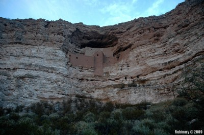 Castle at Montezuma Castle National Monument.