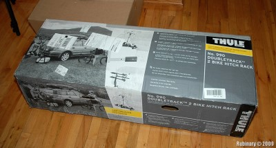 The box that Thule rack came in.