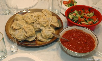 My favorite meal of all time — manti (манты).
