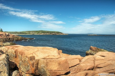 Near Thunder Hole in Acadia National Park.