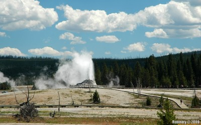 Castle Geyser.