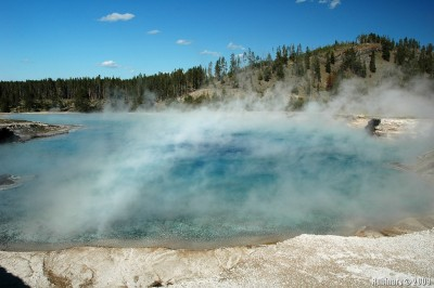 Excelsior Geyser Crater.