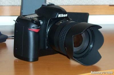 Nikon D70.