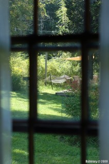Cottage window.